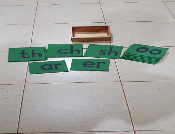 Double Sandpaper Letters