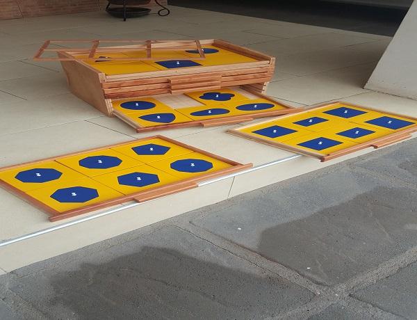 Geometric Cabinet